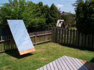 Build a heliostat for home heating