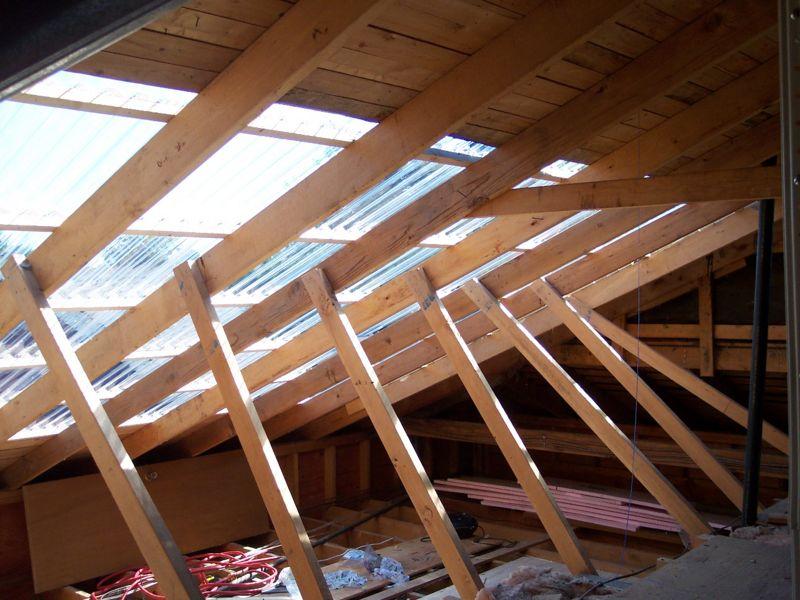 Solar Attic - east roof 4
