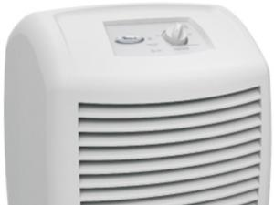 Heat your home with a dehumidifier