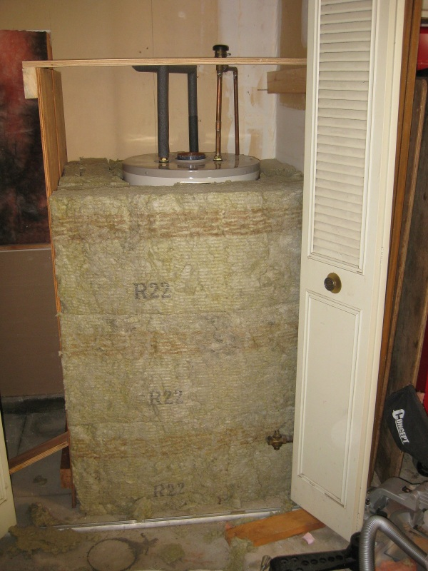 super insulate your hot water tank