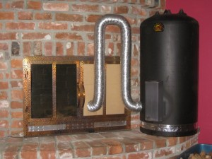 Heat your home with a Rocket Stove.